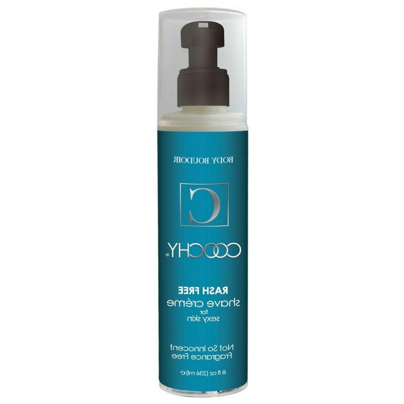 New Coochy Body Rashfree Shave Creme - 8 Oz Fragrance Free