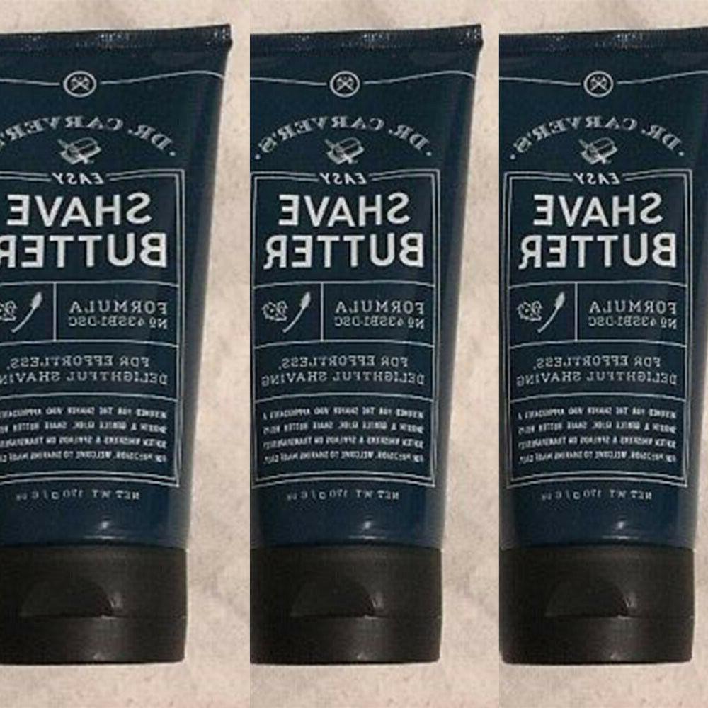 3 packs dr carver s easy shave