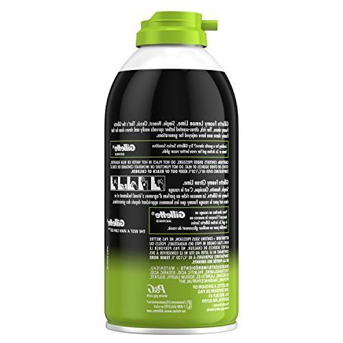 Gillette Lemon-Lime, 11 Ounce