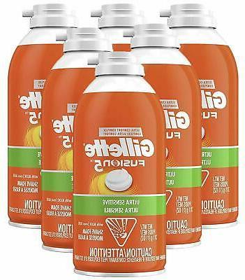 Gillette Foamy Shaving Cream, Original,