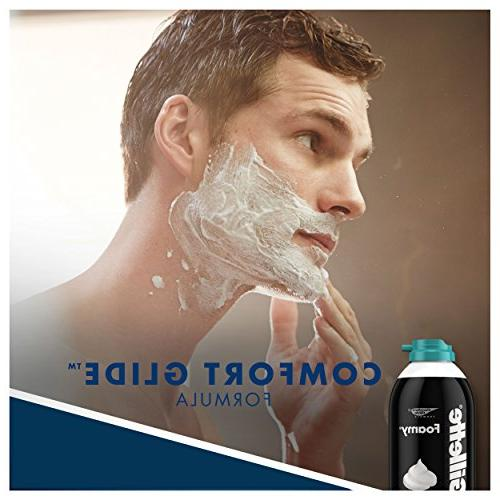 Gillette Foamy Sensitive Ounce , Mens Razors/Blades