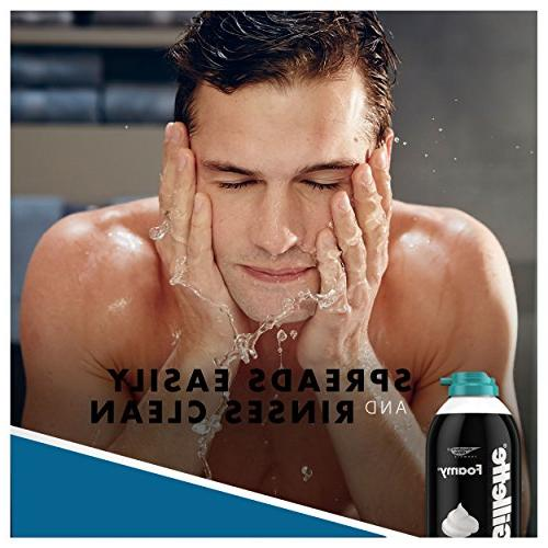 Gillette Shaving Cream, Sensitive 11 , Mens Razors/Blades