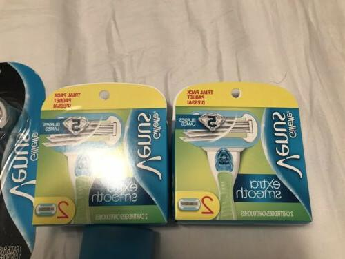 Gillette New Lady's Cream Razors