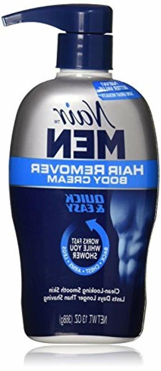 Nair Men Hair Removal Cream 2 Count