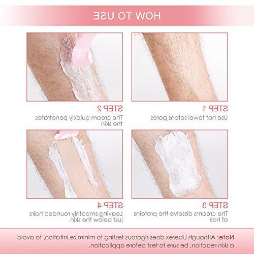 Hair Cream Liberex Women Depilatory Cream Fast for Legs Bikini Skin 3.52