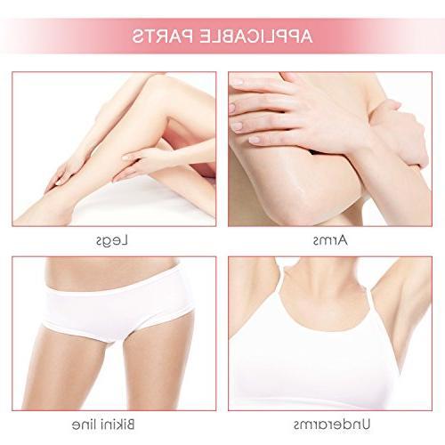 Hair Removal Cream Liberex Women Premium Depilatory Painless Flawless Fast Body Legs Bikini