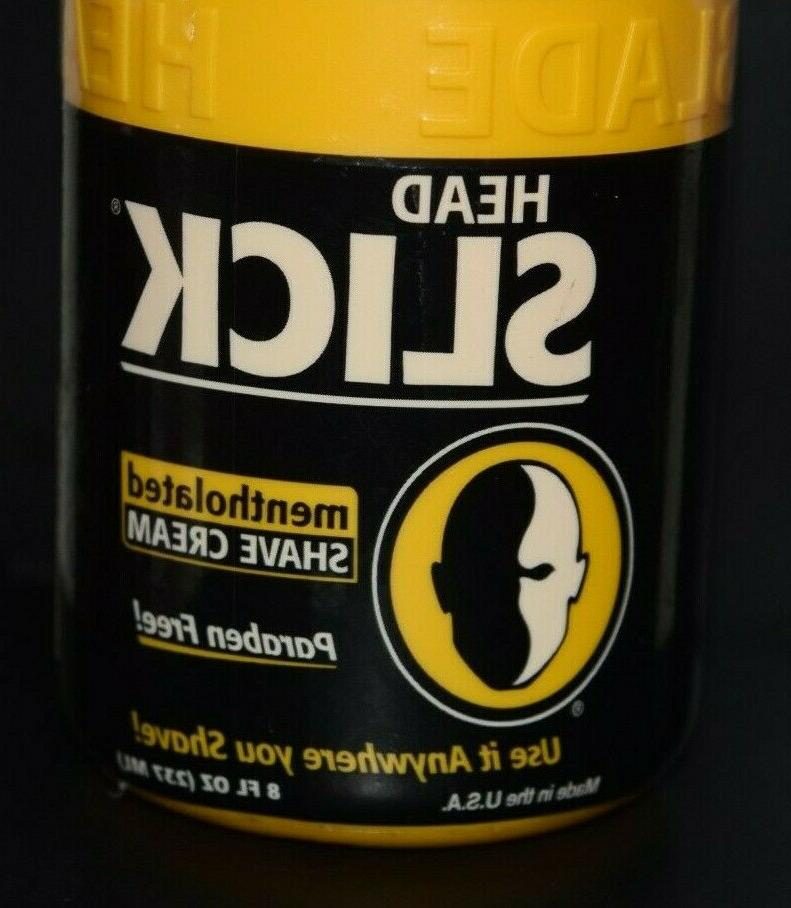 HeadBlade Head Slick Cream 8 sealed Paraben Free Body