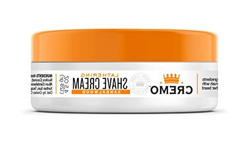 Cremo Shave Cream, With Brush a Shave, 4.5 Ounces