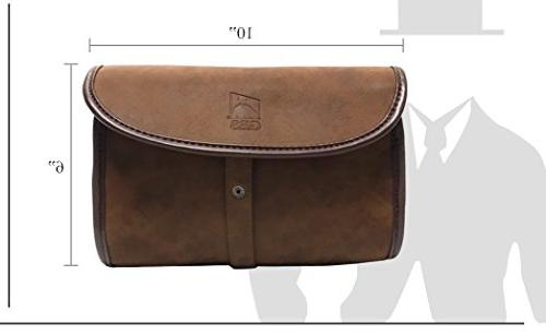 ddcc0be0c0d4 GBS Doppler Kit - Leather Travel Toiletry Roll