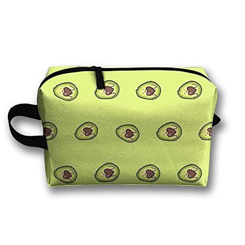 lovely avocado bag train case