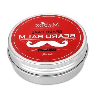 Mabox Men's Beard Balm Leave Nourishments Care Cream Beard S