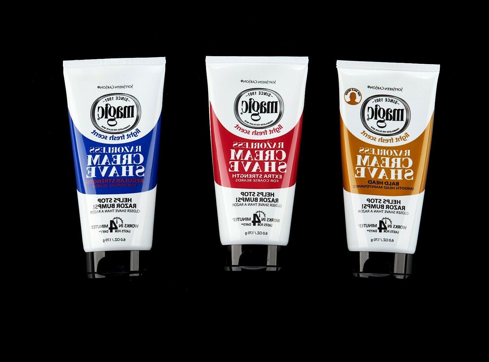 magic shaving cream by razorless hair removal