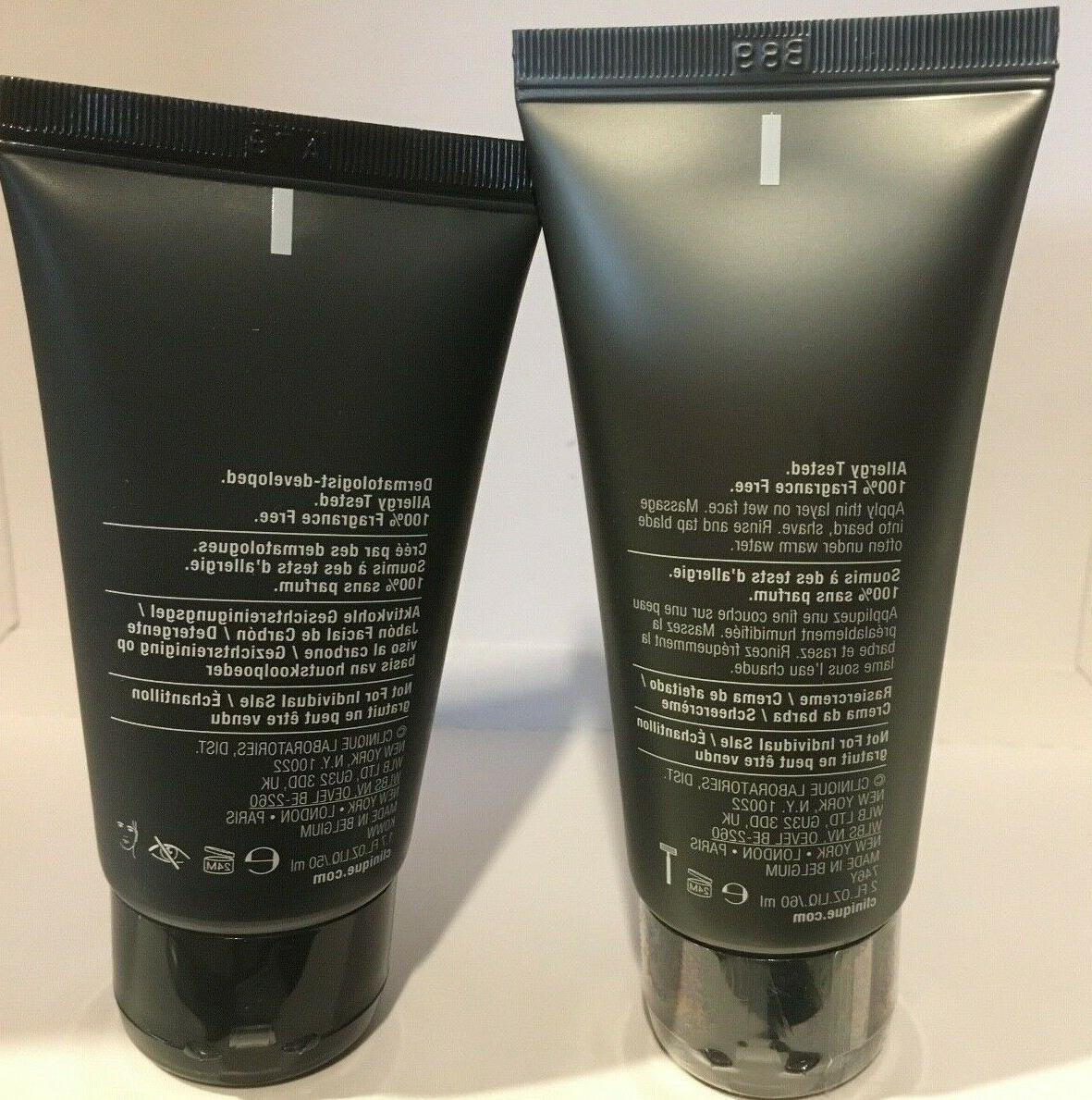 Clinique For Charcoal Face Wash 1.7oz Cream 2