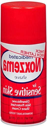 Noxzema Medicated Shave Cream for Extra Sensitive Skin - 11