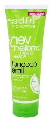 Alba Botanica - Moisturizing Cream Shave Mango Vanilla