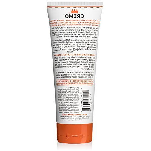 Cremo Coconut Mango Shave Cream, Shaving Cream For Women, Fights Nicks, Razor 6