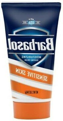 Barbasol Moisturizing Shave Cream For Sensitive Skin 5 oz 1