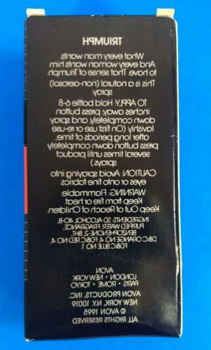 NEW 1995 Cologne Spray 3 oz + Smooth Shave + Talc
