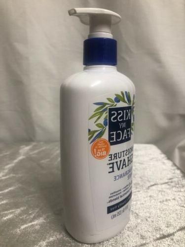 New Kiss Fragrance Free Shave 11 vegan-Shaving Lotion