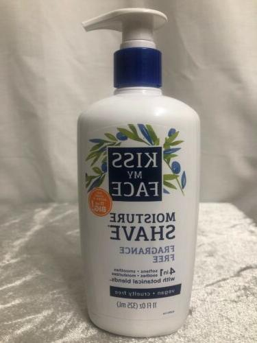 new fragrance free moisture shave 11 oz