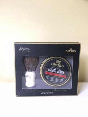 nib classic shave kit reserve blend lather