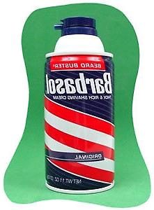 Barbasol Original Shave Cream - Gary Hall Collection Can