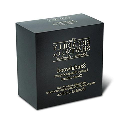 piccadilly sandalwood shaving cream