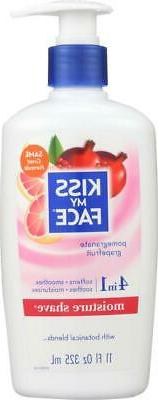 Kiss My Face-Pomegranate Grapefruit Moisture Shave, Pack of