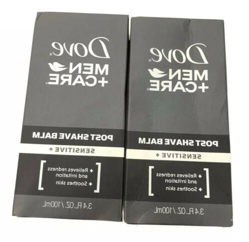 Dove Men+Care Post Shave Balm, Sensitive+, 3.4 fl oz