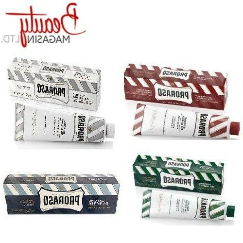 PRORAS Shaving Cream Tube 150ml 5.2 oz
