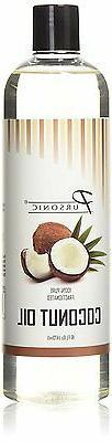 Pursonic 100% Pure Fractionated Coconut Oil, 16oz Oil for Ma