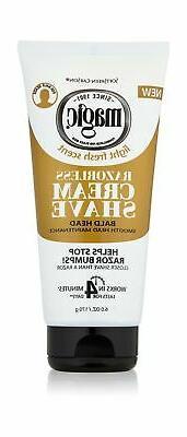 Razorless Shaving Cream Bald Head SoftSheen-Carson Magic Hai