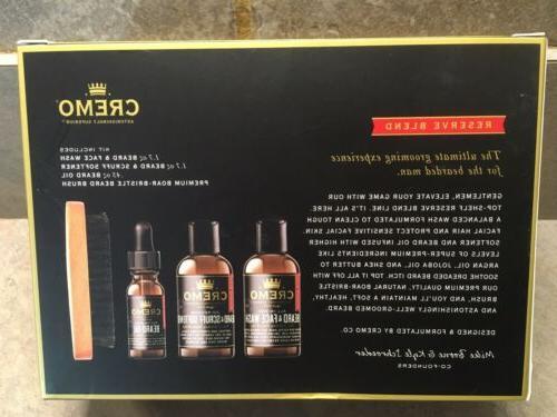 Cremo Reserve Beard Grooming Kit Reserve Blend