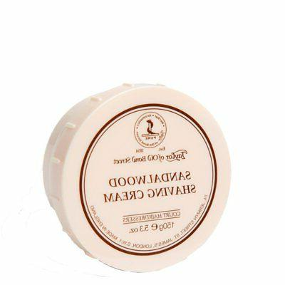 sandalwood shaving cream bowl 150g