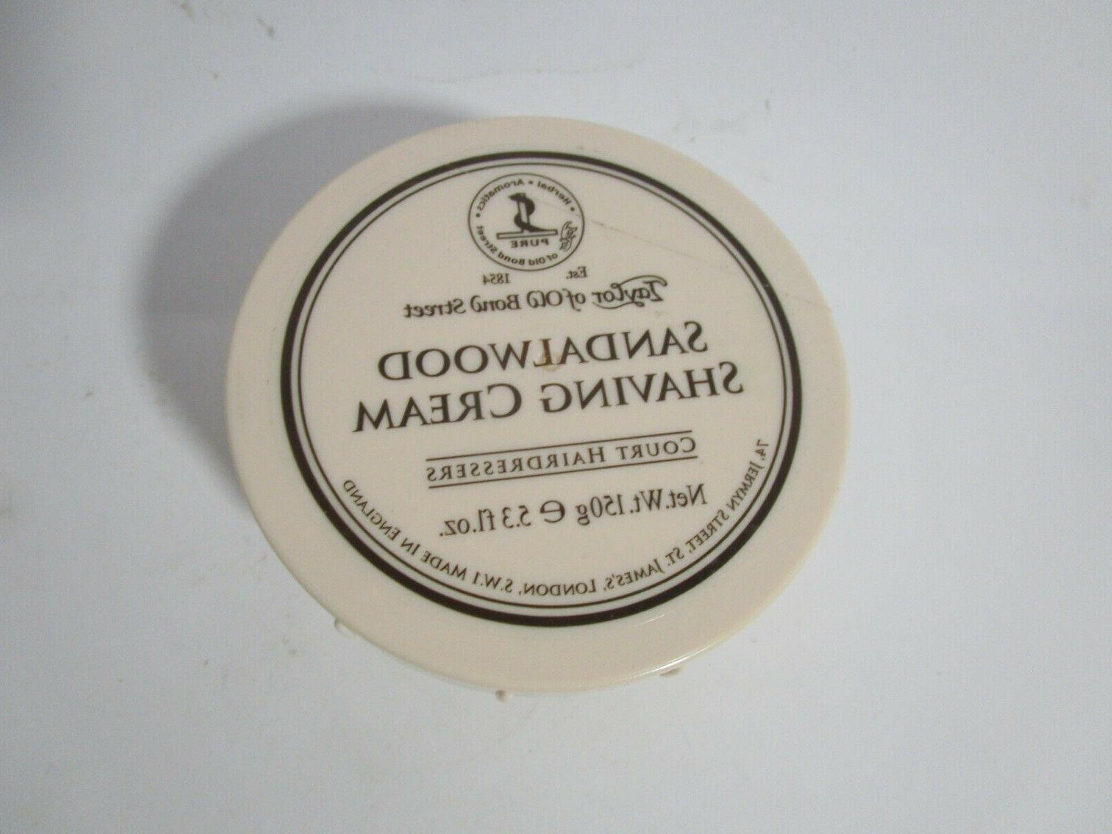 sandalwood shaving cream bowl 5 3 oz
