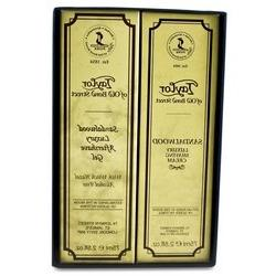 Sandalwood Shaving Cream and Aftershave Gel Gift Box gift bo