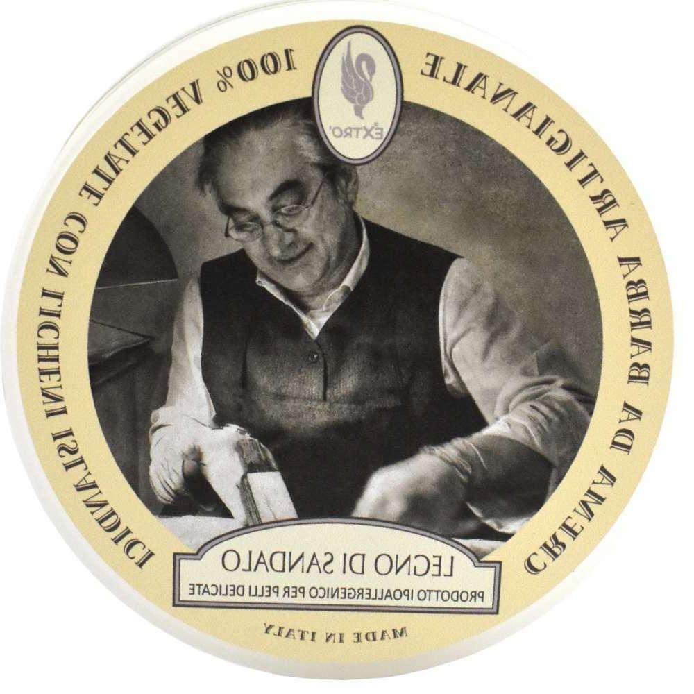 Extro Cosmesi Sandalwood Shaving Cream / Soap 150ml - Parabe
