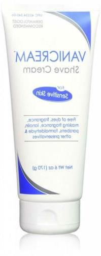 Vanicream Shave Cream, 6 Ounce
