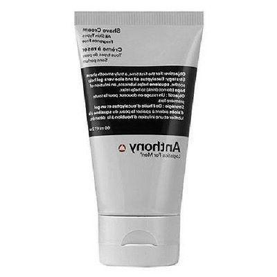 Anthony Logistics for Men Shave Cream 2 fl oz Fragrance free