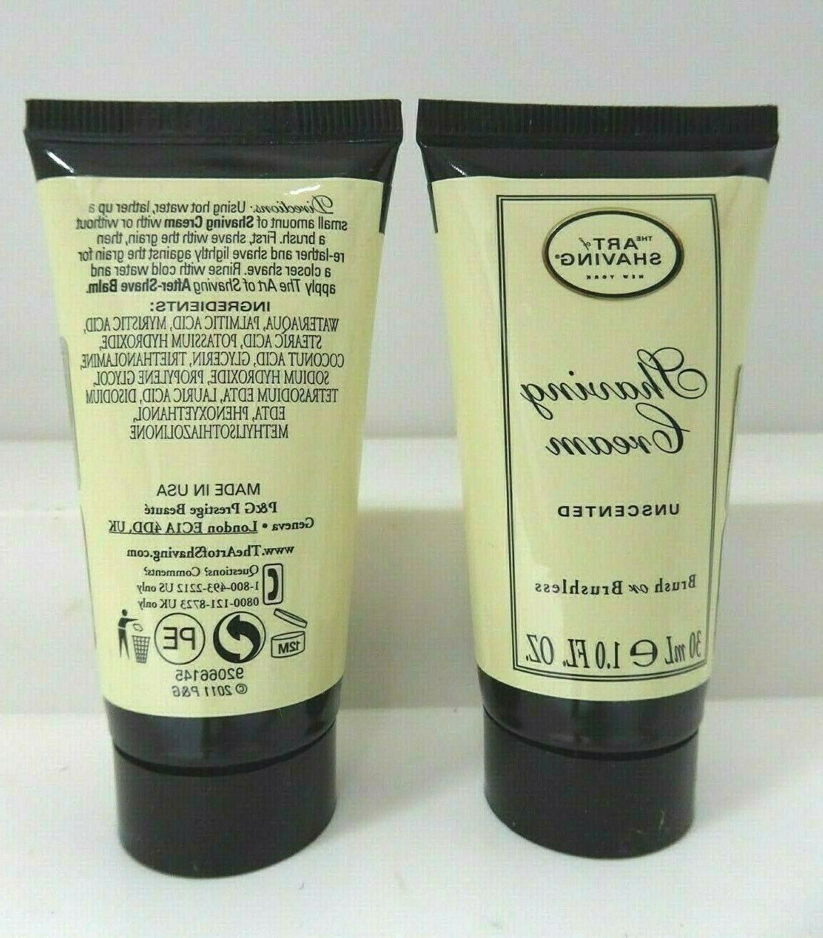 The SHAVING Shave Cream Travel Size 1oz