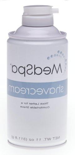 Medline Shave Cream, 11 Ounce Can - Pack of 12