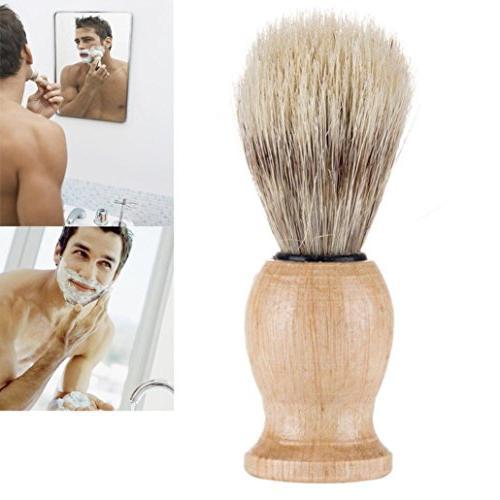 shaving bear brush badger hair