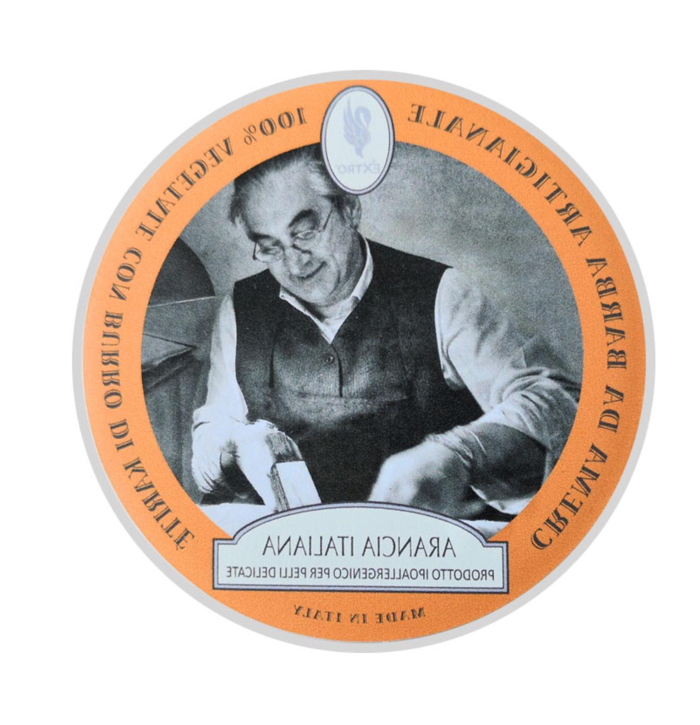 shaving cream 150ml arancia italiana