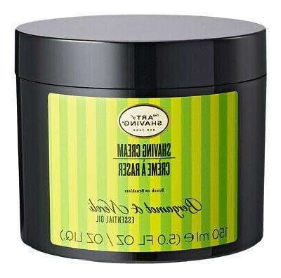 shaving cream bergamot and neroli essential oil