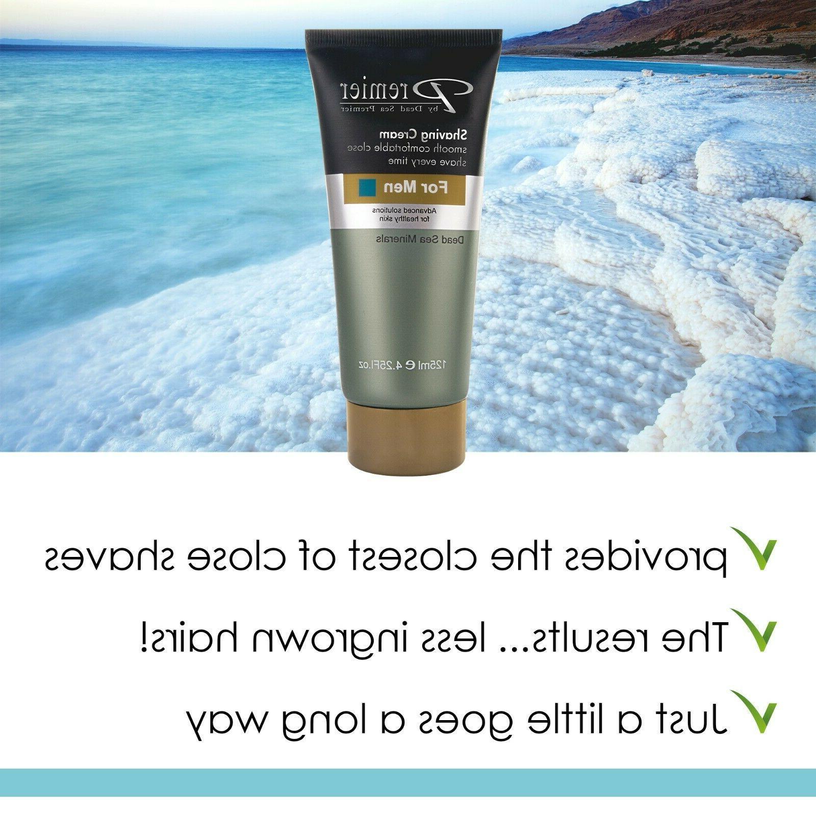Premier Cream for Men, sensitive skin,protects nicks 4.2fl