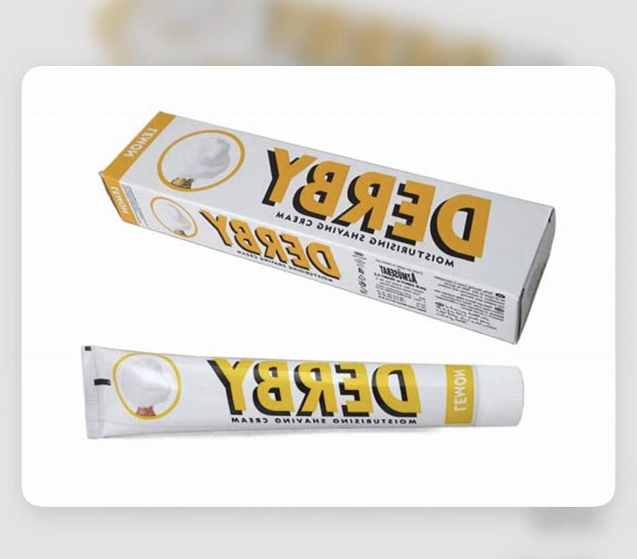 Derby Cream in a Tube 3.5oz - Menthol to