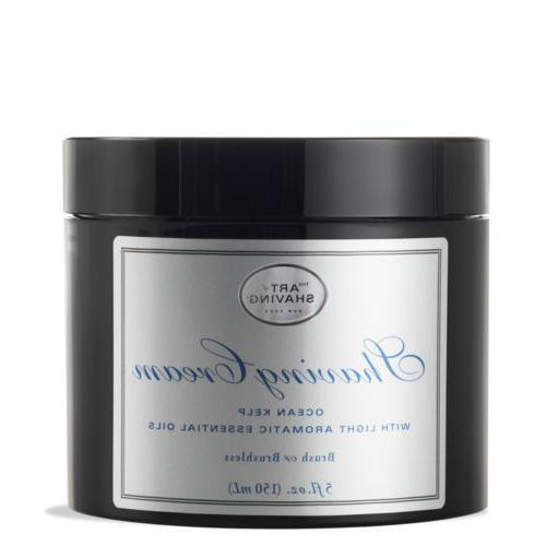 shaving cream ocean kelp aromatic oils 5oz