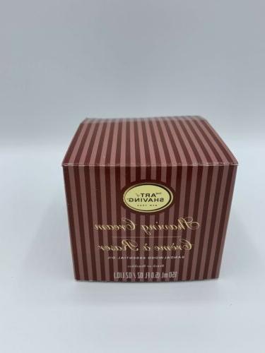 shaving cream sandalwood 5 oz brush or