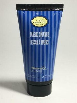 shaving cream tube lavender essential oil 2