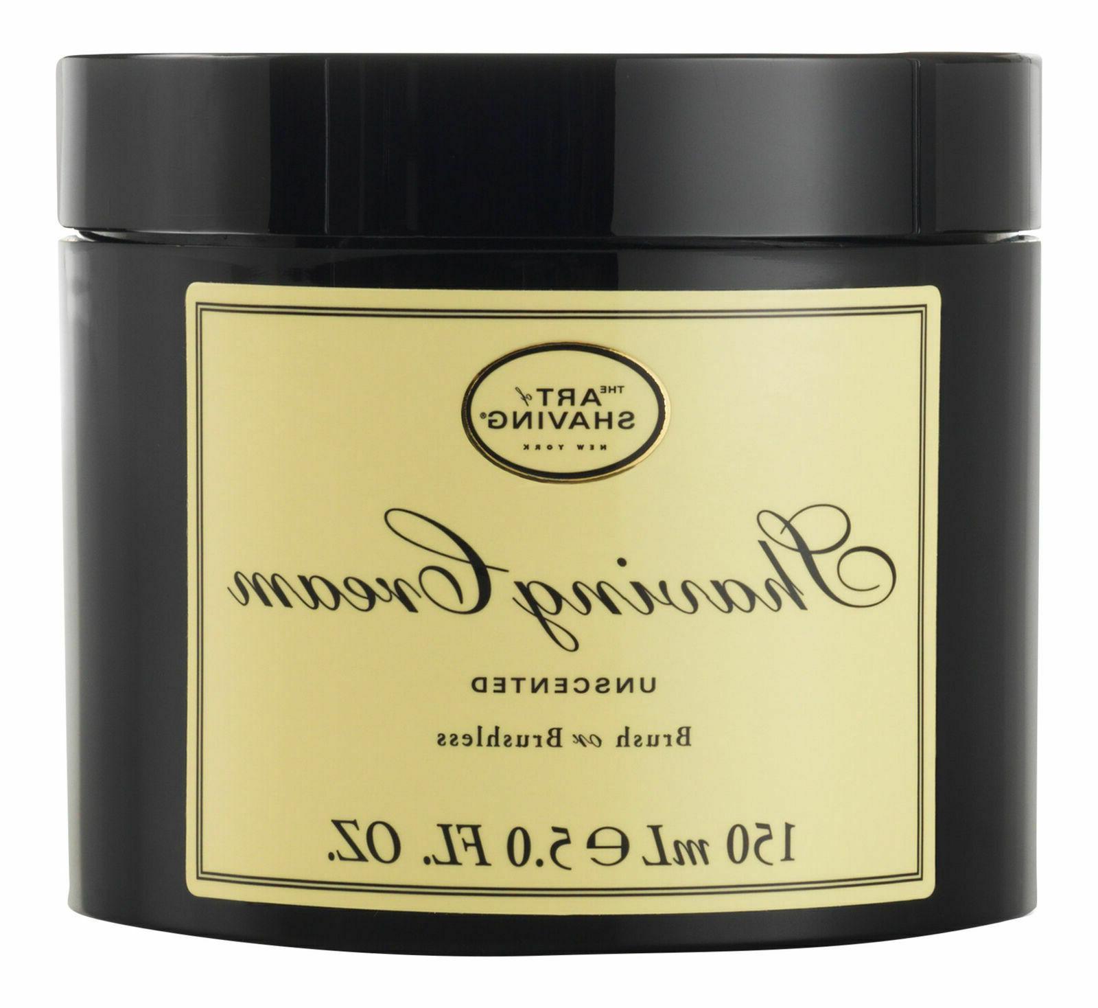 shaving cream unscented 5 oz shaving cream